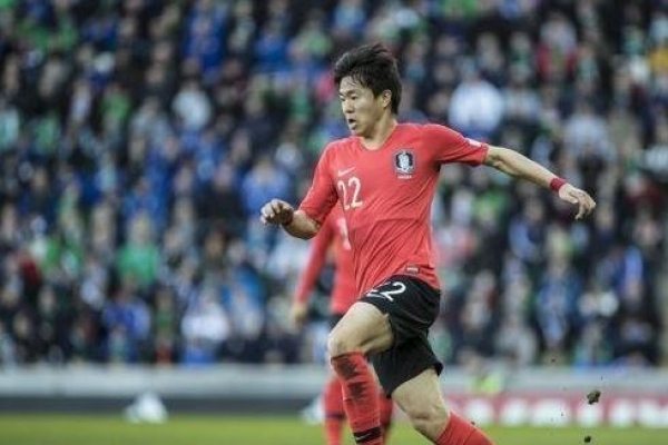 S. Korean footballer Kwon Chang-hoon scores 1st goal of season in France
