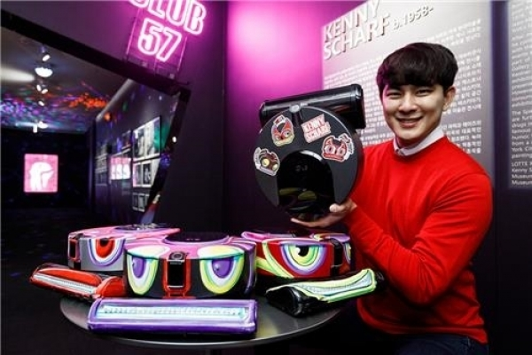 [Photo News] LG's robotic vacuum meets pop art