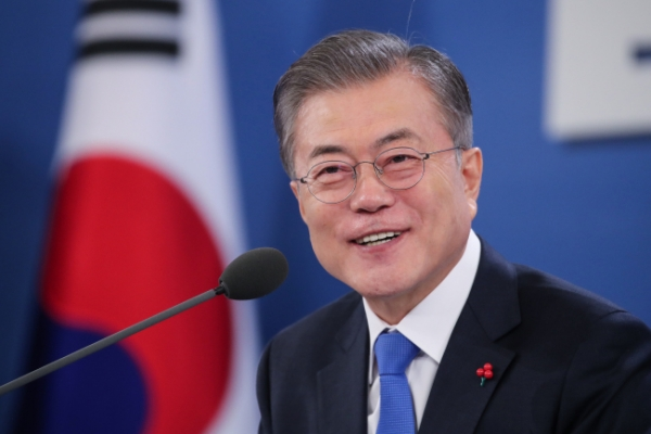 Moon's approval rating rebounds from record low: Gallup