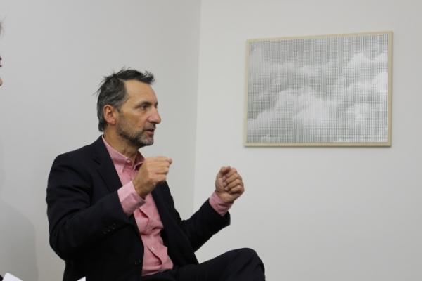 French artist Xavier Veilhan holds solo exhibition