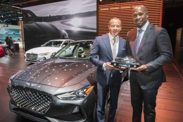 Kona, Genesis G70 win top auto awards in US