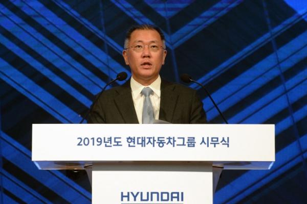 Hyundai Motor heir named co-chair of Hydrogen Council