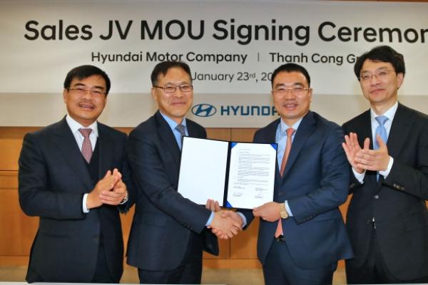 Hyundai Motor to set up joint sales venture in Vietnam