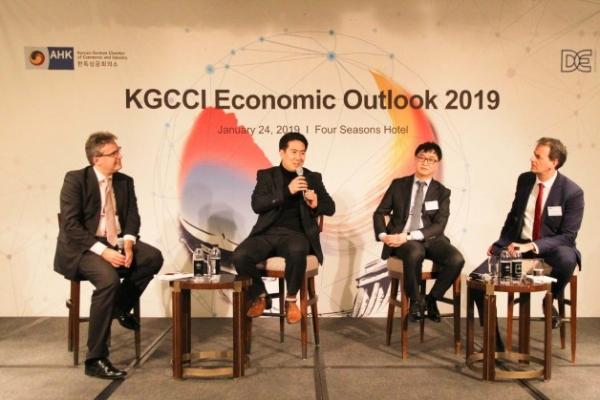 KGCCI holds forum on economic prospect of Korea
