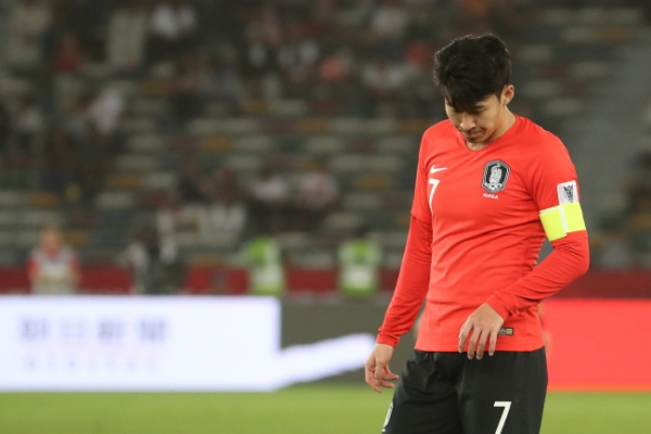 [Asian Cup] Son Heung-min admits to running on fumes in loss
