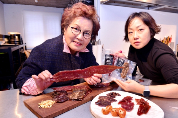 Korean beef jerky dreams to be charcuterie for the world
