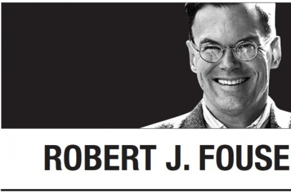 [Robert J. Fouser] South Korea as No. 1?