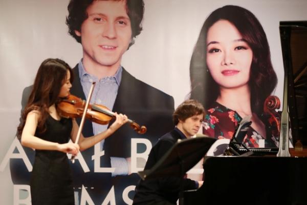 When Polish pianist meets Korean violinist