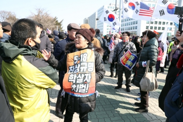 [Newsmaker] Outraged Gwangju citizens take to National Assembly over opposition lawmakers' Gwangju Uprising remarks