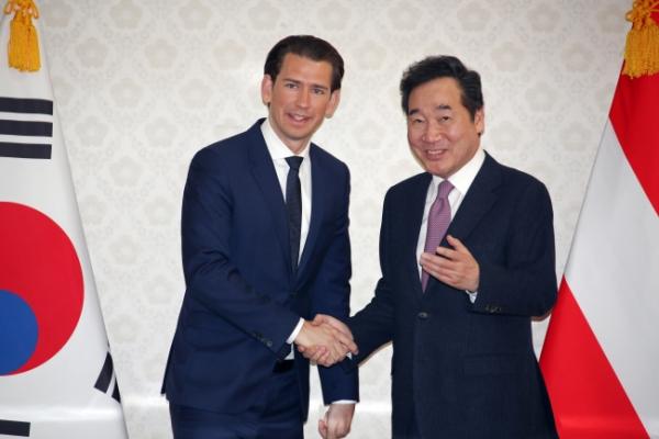 S. Korean PM thanks Austria for supporting peace process on Korean Peninsula