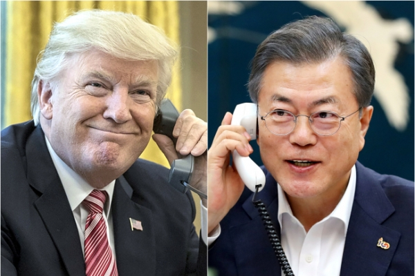 Moon offers to ease US burden in talks with NK