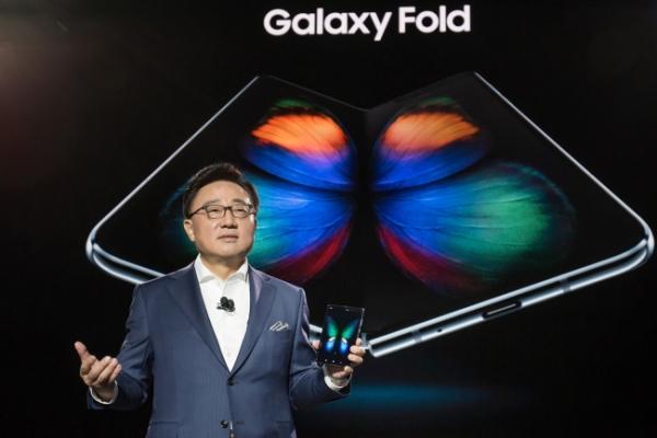Samsung unveils first foldable gadget