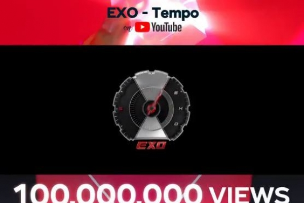 EXO's 'Tempo' music video hits 100 mln YouTube views
