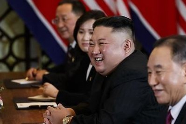 In a summit first, Kim Jong-un takes US media questions