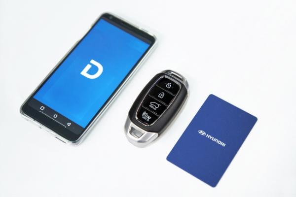 Hyundai Motor unveils smartphone-based digital keys