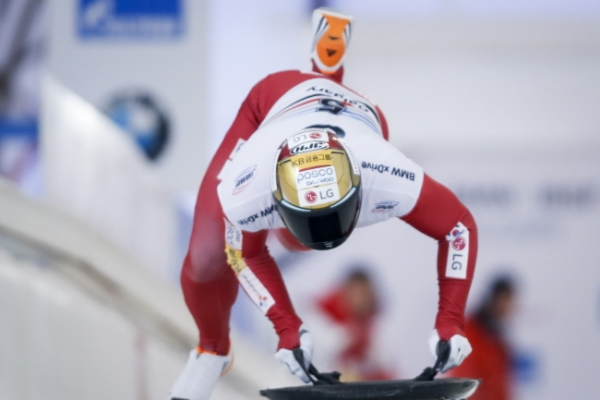 S. Korean skeleton slider to compete at world championships with full confidence