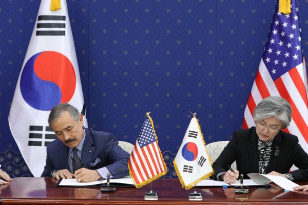 S. Korea, US seal defense cost deal, saying it's 'foundation' of alliance