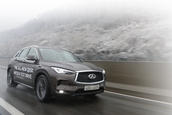 [Behind the Wheel] The all-new QX50: An elegant ride powered by a smart turbo engine