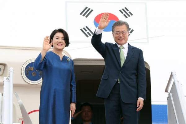 S. Korea's Moon wraps up Brunei visit, heads to Malaysia