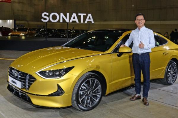 Hyundai sets new Sonata sales target at 70,000 this year