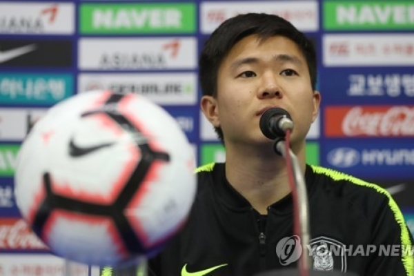 Back from injury, S. Korean midfielder looking to create synergy with young players