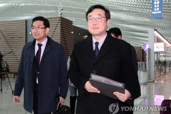 S. Korea's top nuclear envoy meets EU foreign affairs chief over N. Korea