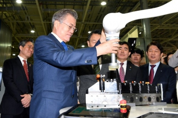 S. Korea aims to become No. 4 robotics player by 2023