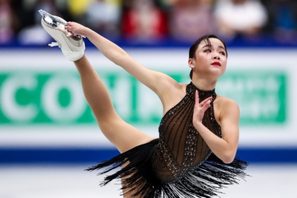 S. Korean Lim Eun-soo finishes 10th at figure skating worlds