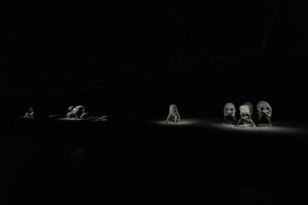 Kohei Nawa's 'Vessel' sculptures shimmer in the dark