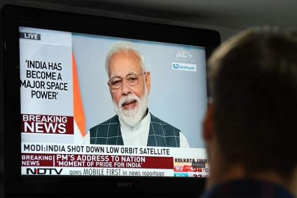 Modi declares India 'space superpower' as satellite downed by missile