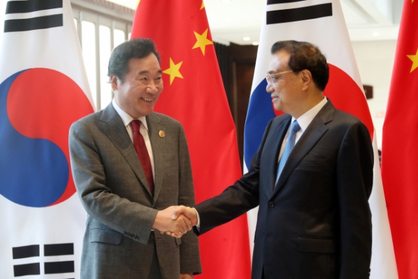S. Korea, China discuss fine dust issue in prime ministerial talks