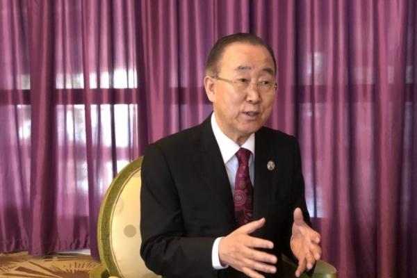 Former UN chief Ban Ki-moon to meet with China's Xi Jinping next week