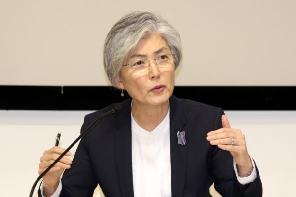 S. Korea, US aligned on end goal on N. Korea: FM Kang
