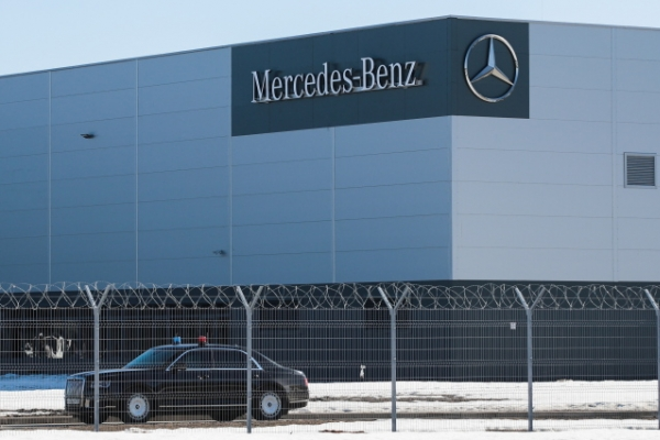 German automaker Mercedes opens new Russia factory
