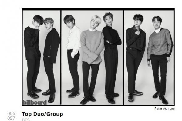 BTS nominated for 2019 Billboard music award