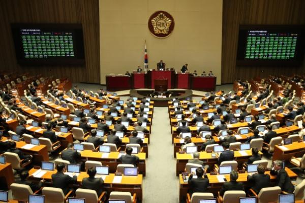 S. Korea's parliament ratifies defense cost deal with US