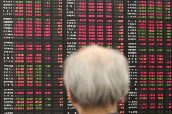 S. Korean shares end higher on trade deal hopes
