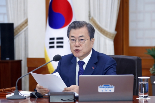 Moon says equal opportunities for all people will complete founding of nation