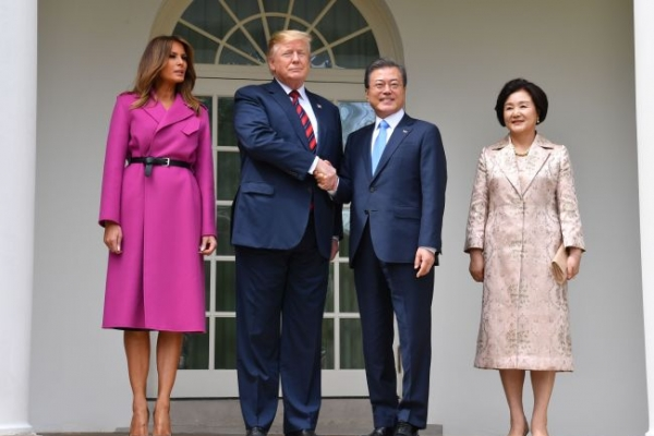 Moon to comment on US summit, NK leader's speech: official