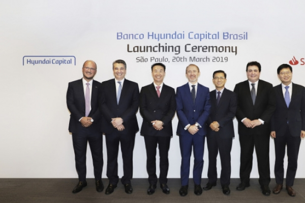 Hyundai Capital, Santander Group launch JV Banco Hyundai Capital Brasil