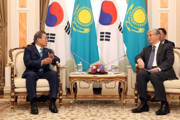Moon's trip to Central Asia may lead to $28b worth of cooperation projects