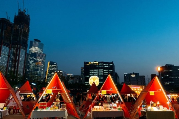 [Weekender] Night market gets glam makeover in Yeouido