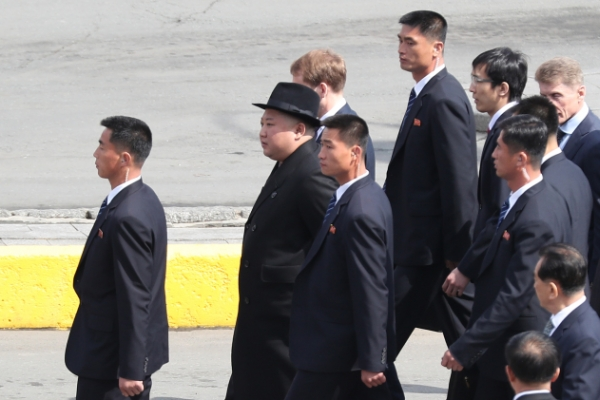 NK leader Kim leaves Russia after summit with Putin
