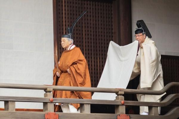 End of an era as Japan's emperor abdicates