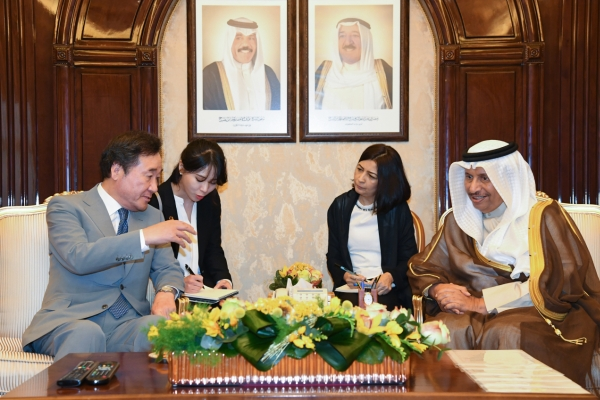 PM calls for S. Korean firms' participation in Kuwait infrastructure projects