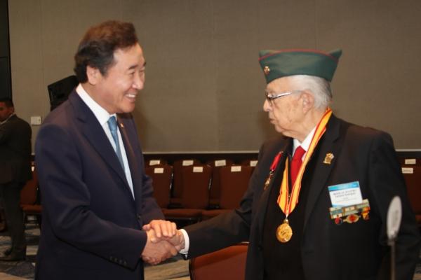 S. Korean premier vows efforts for Colombian veterans during Korean War