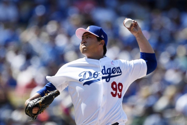 Dodgers' pitcher Ryu Hyun-jin earns top NL weekly honor