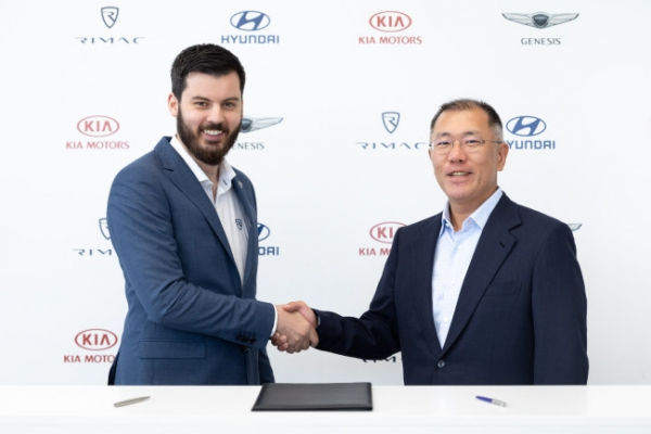 Hyundai invests W100b in Rimac for electric hypercar development