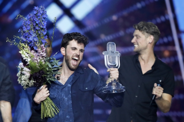 Netherlands wins Eurovision as Madonna dancers spark flag controversy