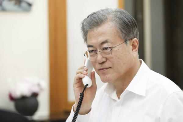 Moon appreciates UAE's help in getting S. Korean hostage freed
